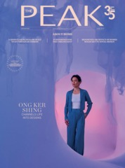 Cover Majalah THE PEAK Singapore Juni 2019