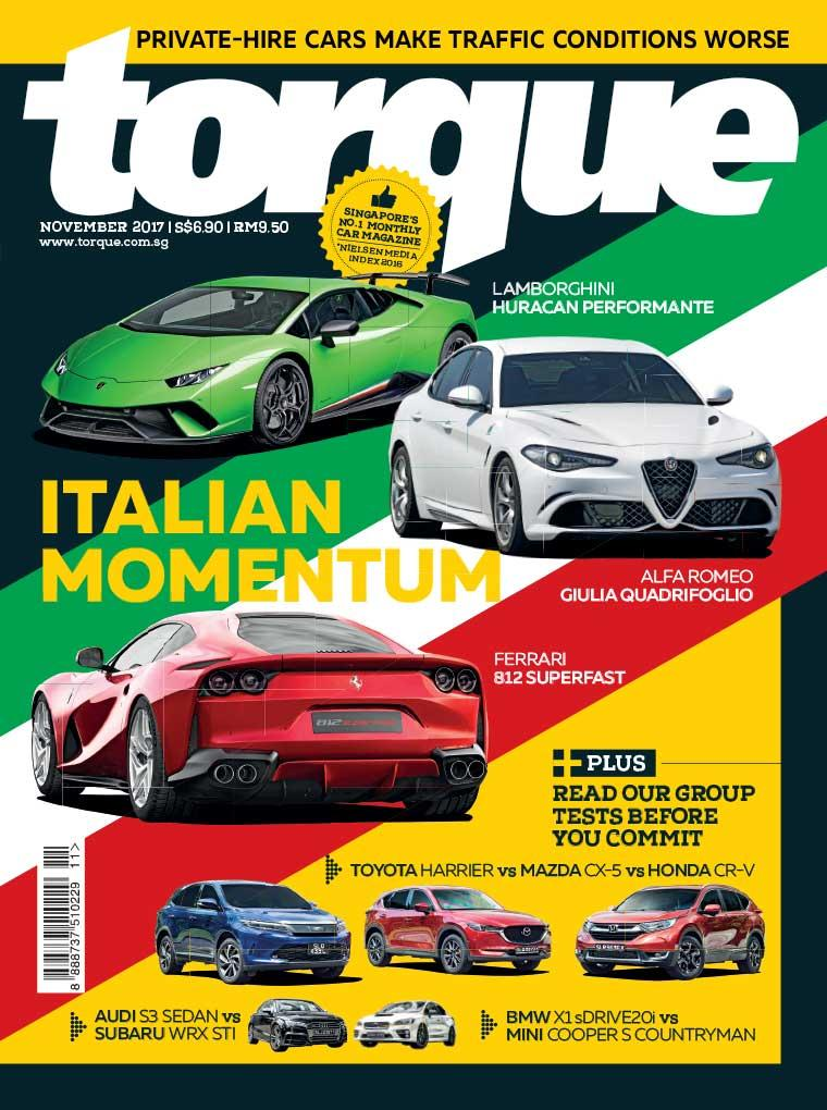 Torque Singapore Digital Magazine November 2017