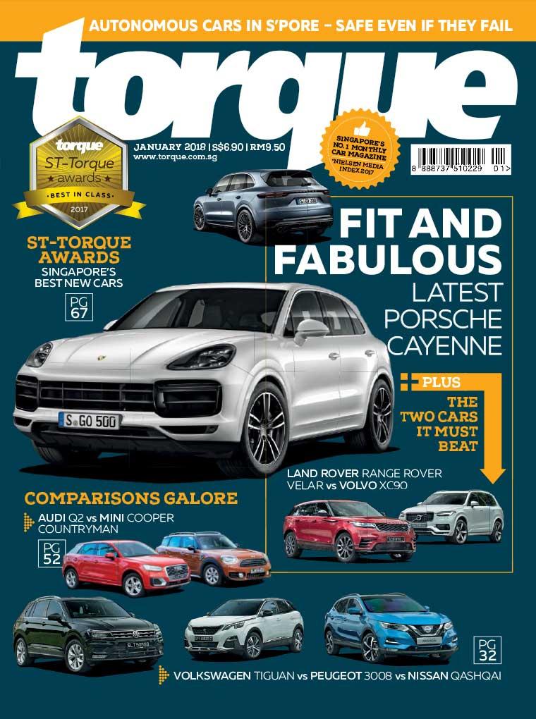 Majalah Digital torque Singapore Januari 2018