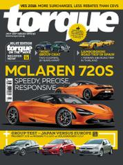 Torque Singapore Magazine Cover July 2017
