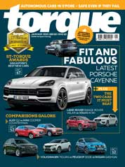 Torque Singapore Magazine Cover January 2018
