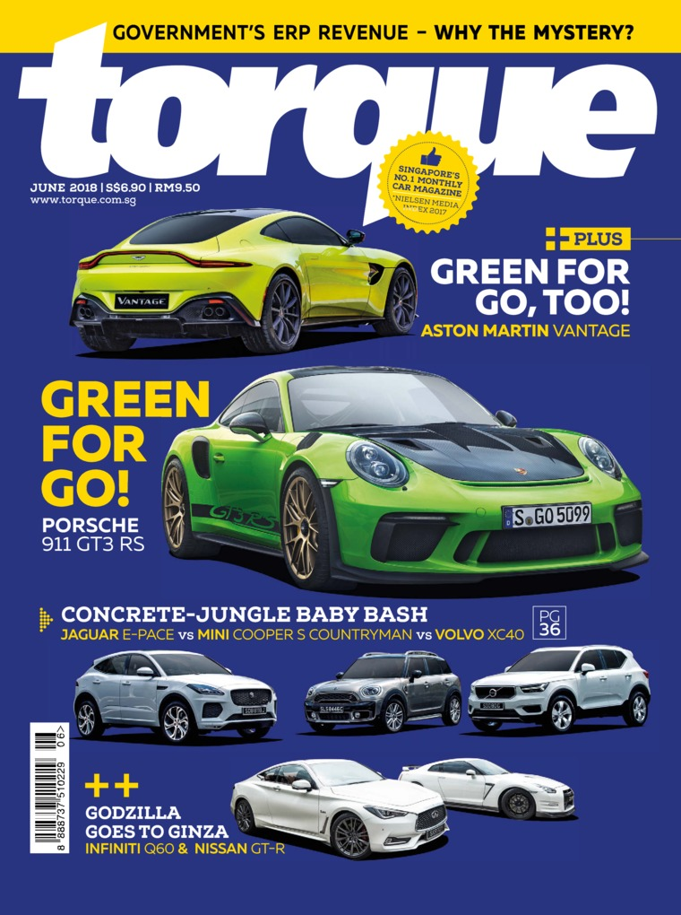 Majalah Digital torque Singapore Juni 2018