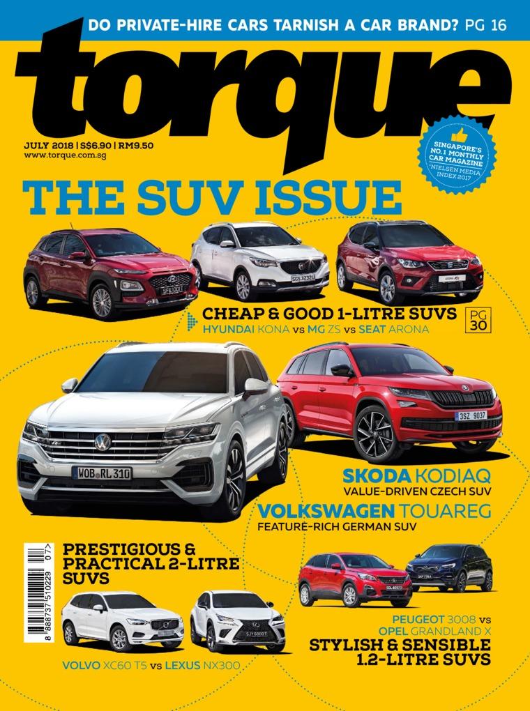 Majalah Digital torque Singapore Juli 2018
