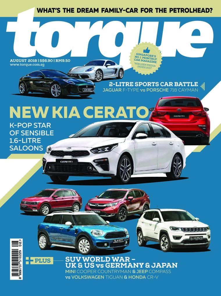 Majalah Digital torque Singapore Agustus 2018
