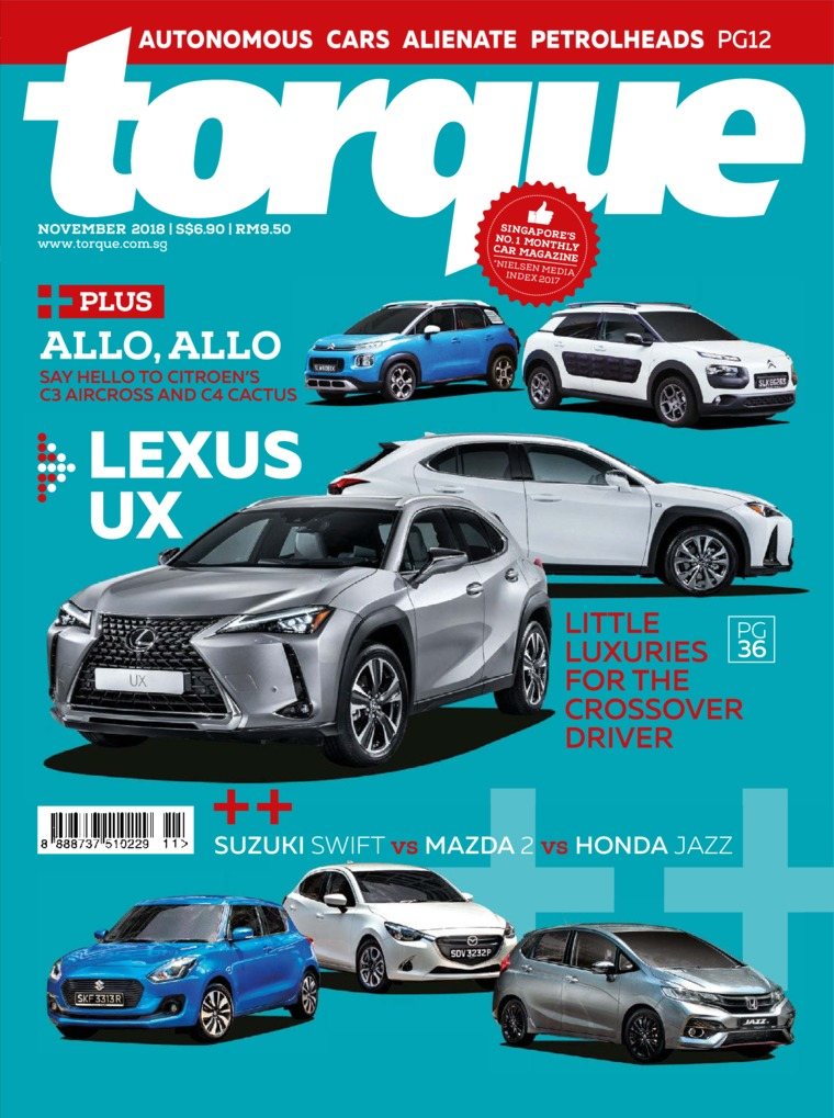 Majalah Digital torque Singapore November 2018