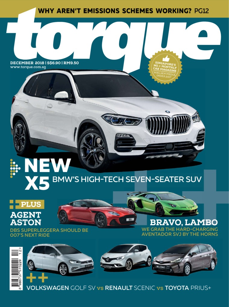 Torque Singapore Digital Magazine December 2018