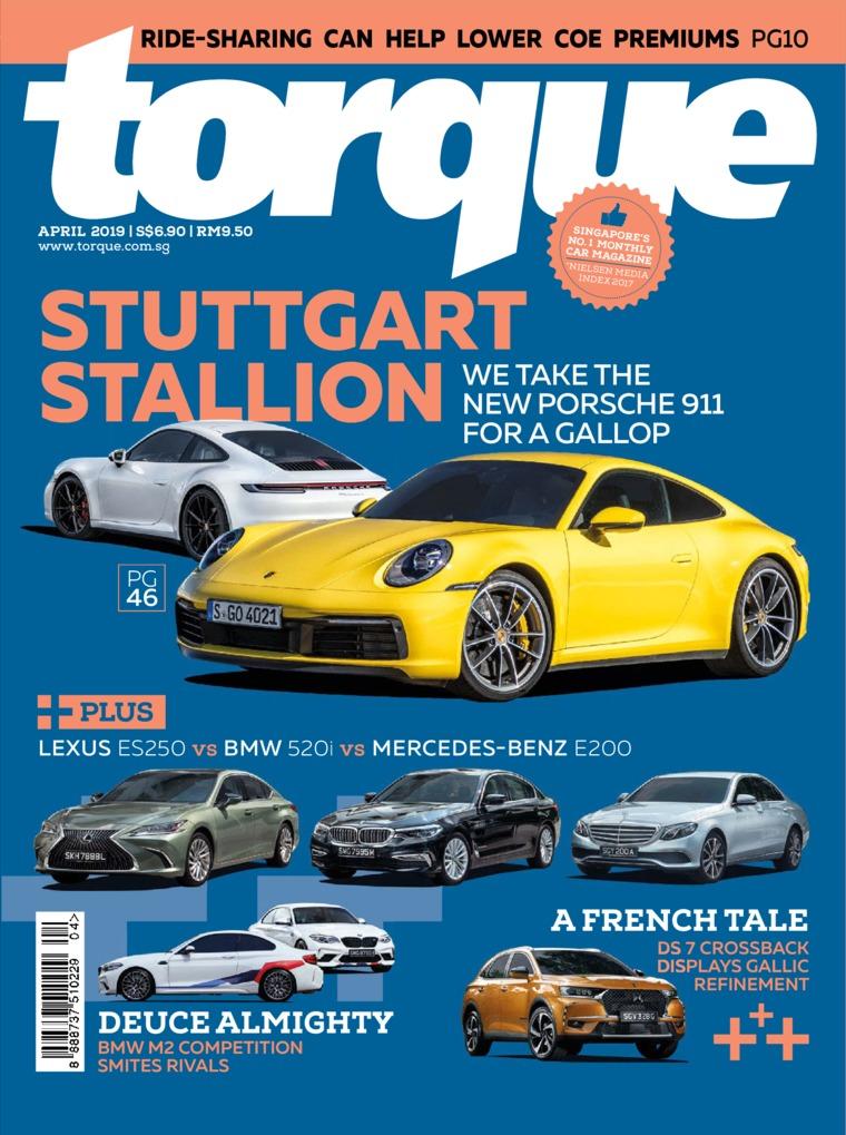 Torque Singapore Digital Magazine April 2019