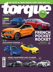 Torque Singapore Magazine Cover May 2018
