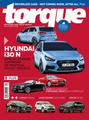 Cover Majalah torque Singapore September 2018