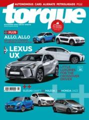 Torque Singapore Magazine Cover November 2018