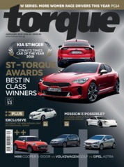 Torque Singapore Magazine Cover January 2019