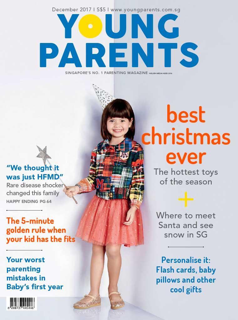 Majalah Digital young parents Singapore Desember 2017