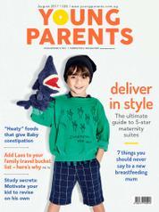 Cover Majalah young parents Singapore Agustus 2017