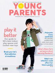 Cover Majalah young parents Singapore Oktober 2017