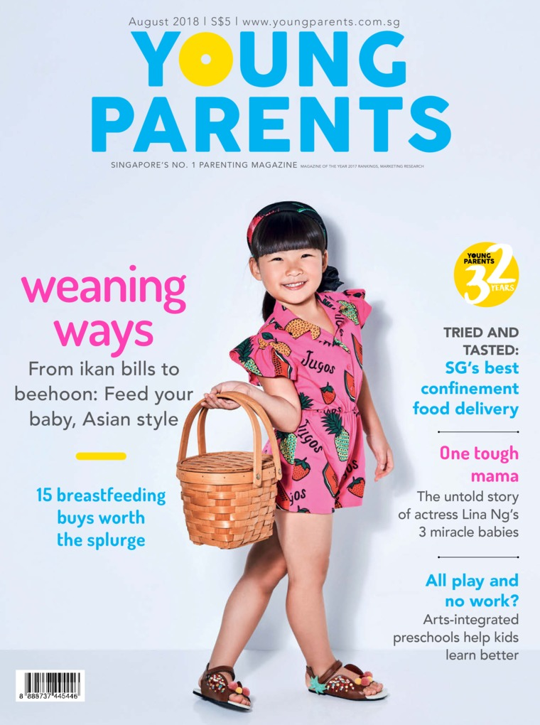 Majalah Digital young parents Singapore Agustus 2018