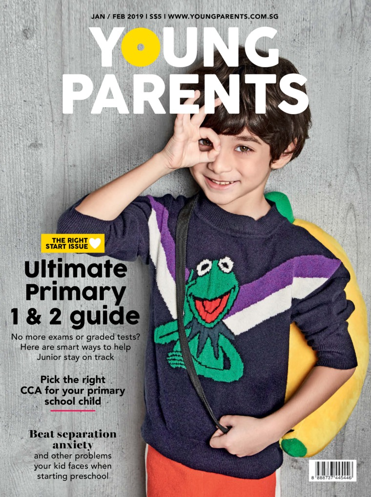 Young parents Singapore Digital Magazine January 2019