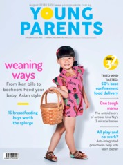 Young parents Singapore Magazine Cover August 2018