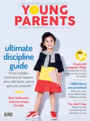 Cover Majalah young parents Singapore Oktober 2018