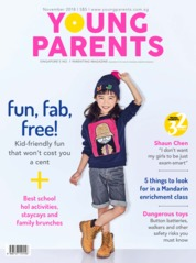 Young parents Singapore Magazine Cover November 2018