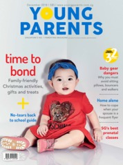 Cover Majalah young parents Singapore Desember 2018