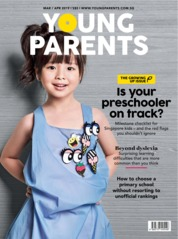 Cover Majalah young parents Singapore