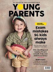 Young parents Singapore Magazine Cover July 2019