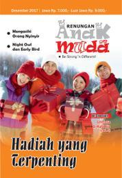 Renungan Anak Muda Magazine Cover December 2017