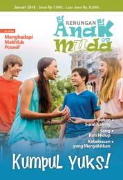 Renungan Anak Muda Magazine Cover January 2018