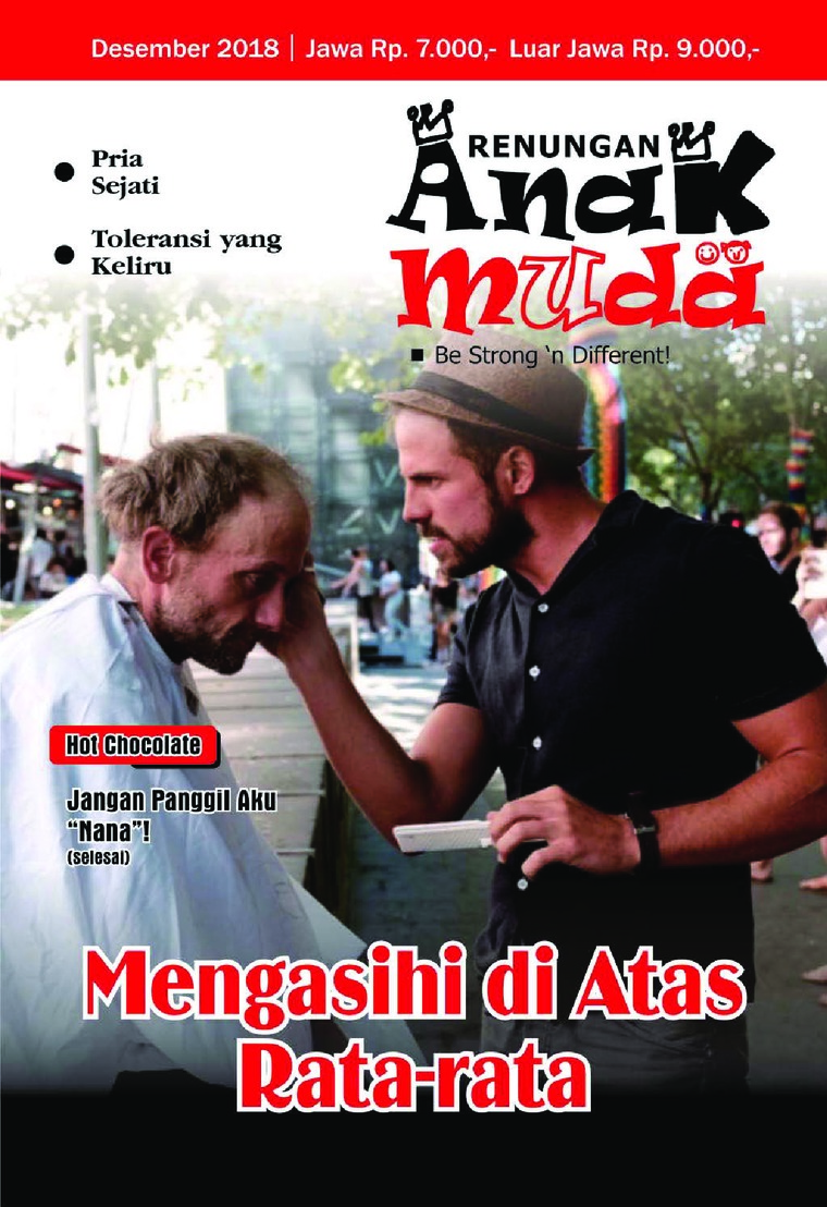 Renungan Anak Muda Digital Magazine December 2018