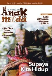 Cover Majalah Renungan Anak Muda Maret 2018