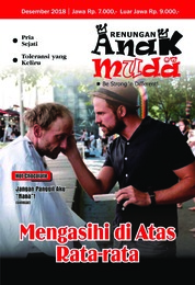 Renungan Anak Muda Magazine Cover December 2018