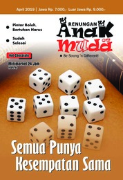 Renungan Anak Muda Magazine Cover April 2019