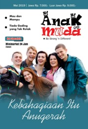 Renungan Anak Muda Magazine Cover May 2019