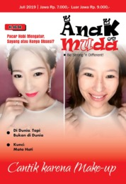Renungan Anak Muda Magazine Cover July 2019