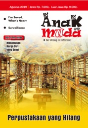 Renungan Anak Muda Magazine Cover August 2019