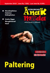 Renungan Anak Muda Magazine Cover September 2019