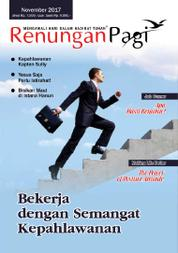 Renungan Pagi Magazine Cover November 2017