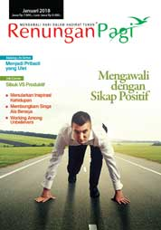 Renungan Pagi Magazine Cover January 2018