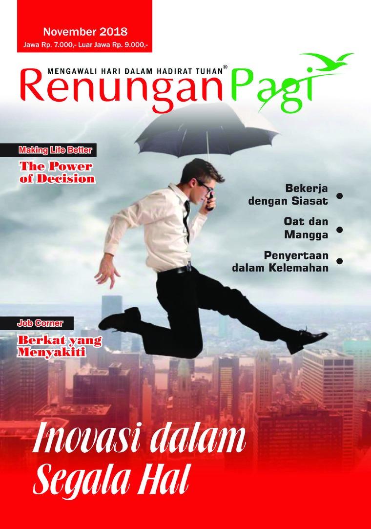 Majalah Digital Renungan Pagi November 2018