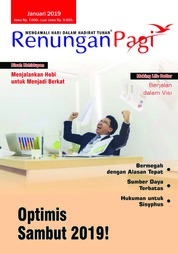 Renungan Pagi Magazine Cover January 2019