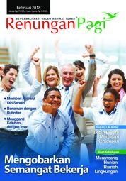 Renungan Pagi Magazine Cover February 2018