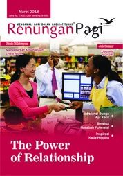 Renungan Pagi Magazine Cover March 2018