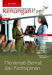 Renungan Pagi Magazine Cover April 2018