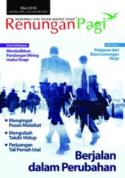 Renungan Pagi Magazine Cover May 2018