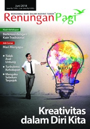 Renungan Pagi Magazine Cover June 2018