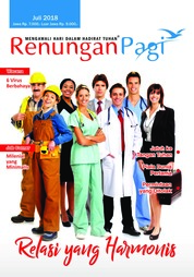 Renungan Pagi Magazine Cover July 2018