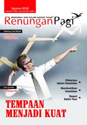 Renungan Pagi Magazine Cover August 2018
