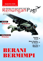 Renungan Pagi Magazine Cover September 2018