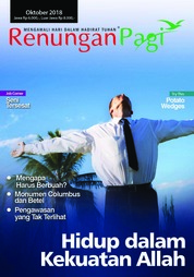 Renungan Pagi Magazine Cover October 2018