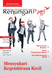 Renungan Pagi Magazine Cover December 2018